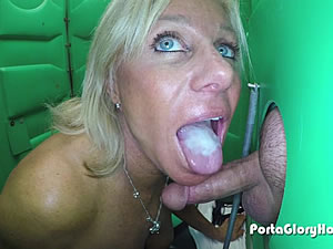 Hot gloryhole blowjob scene - mature porn tube