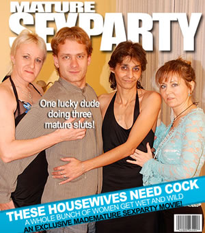 Hardcore mature sex party